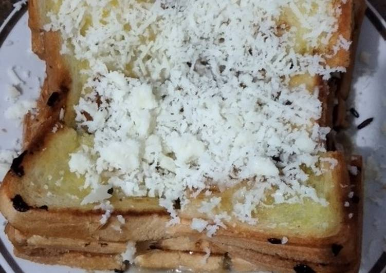 Roti bakar super simple endull