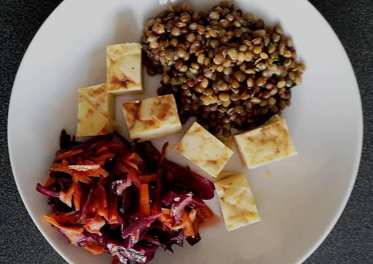 Recette: Délicieux Salade chou rouge-carottes