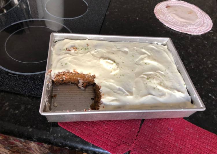 Lime Cream Cheese Icing