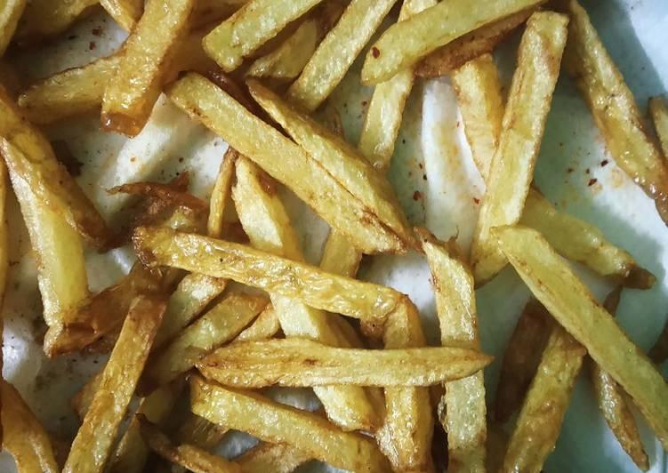 25 Minute Step-by-Step Guide to Prepare Blends French fries
