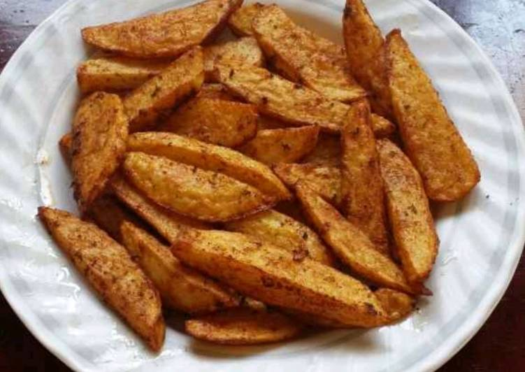 Step-by-Step Guide to Make Award-winning Masala Potato Wedges