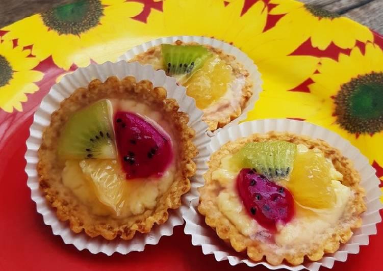 Resep Pie buah ala maminyamima Paling dicari