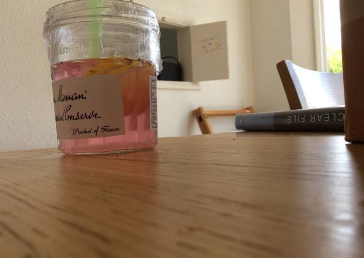 Sweet and sour lemon beverage