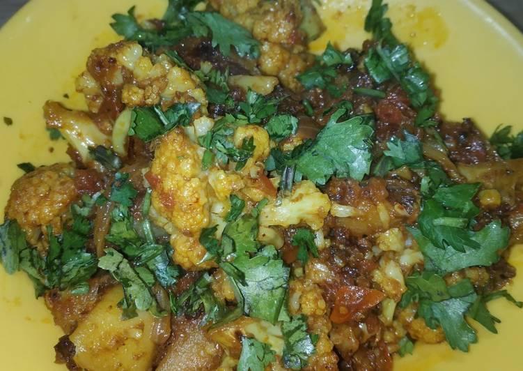 Cauliflower dry bhaji