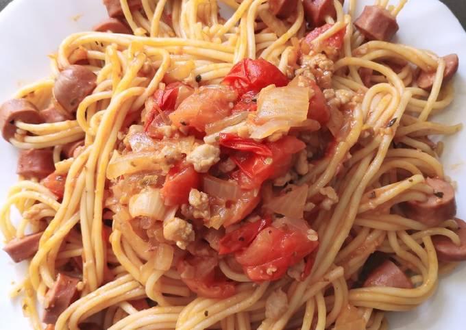Sausage Spaghetti