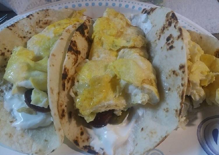 Recipe of Speedy Soft Breakfast Tacos