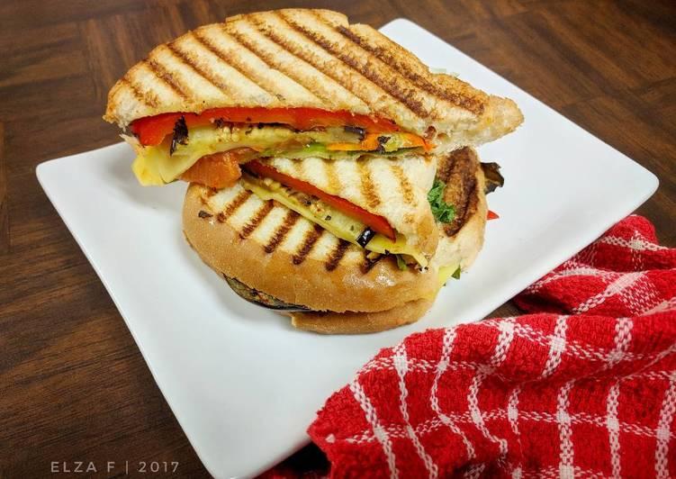 Resep Vegetarian Sandwich ala Cafe Paling Enak
