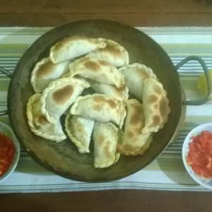 Empanadas de repollo, o empanadas alemanas