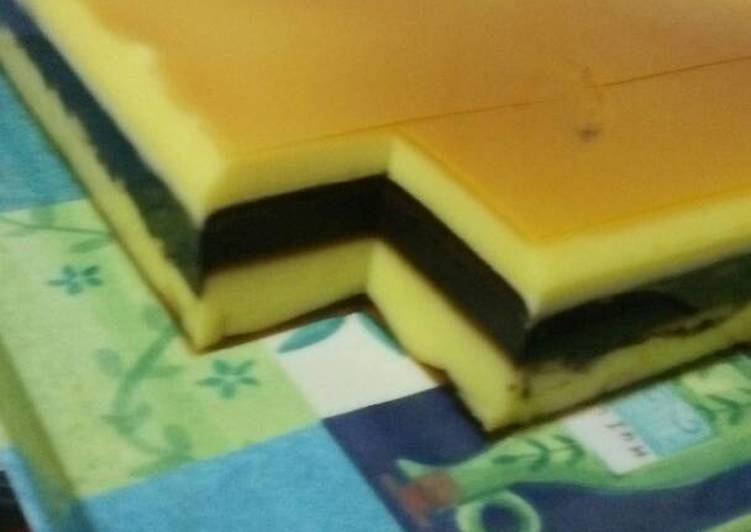 Pudding Lapis Surabaya