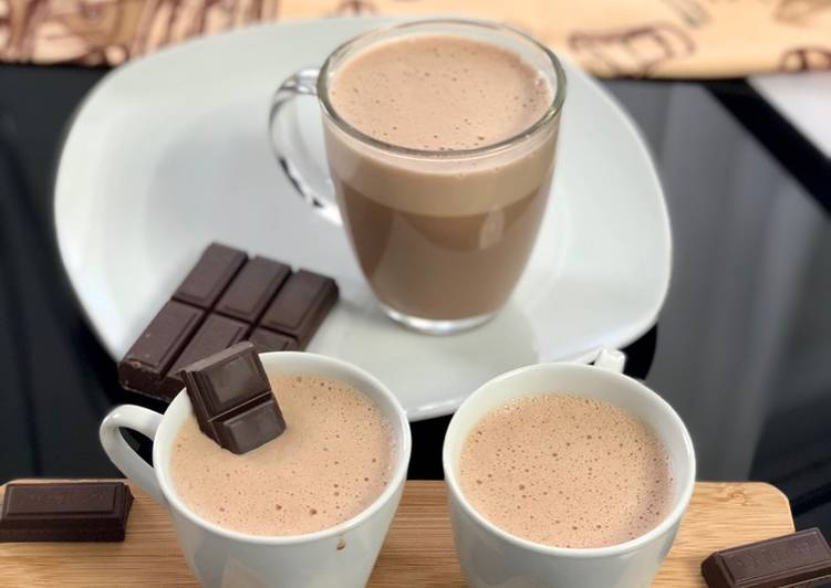 Easiest Way to Cook Appetizing Chocolat chaud mousseux