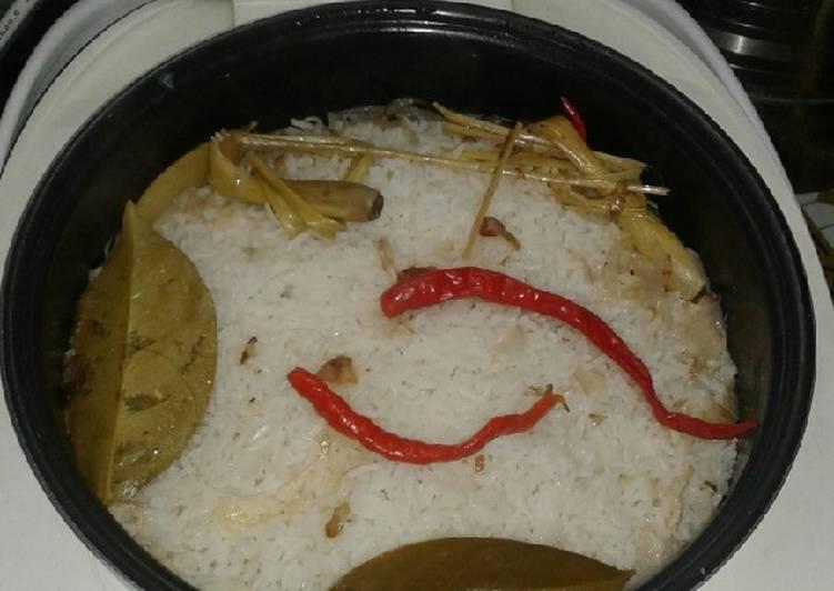 resep nasi liwet magic com sederhana