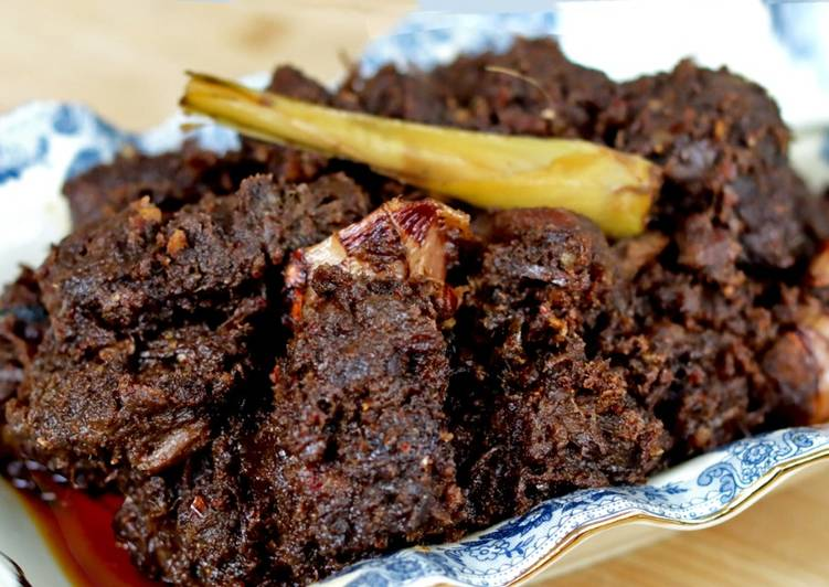 Resep Rendang Daging Khas Padang, Bisa Manjain Lidah