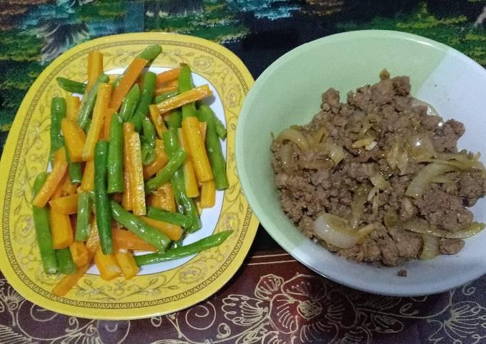 Teriyaki Daging cincang ala2