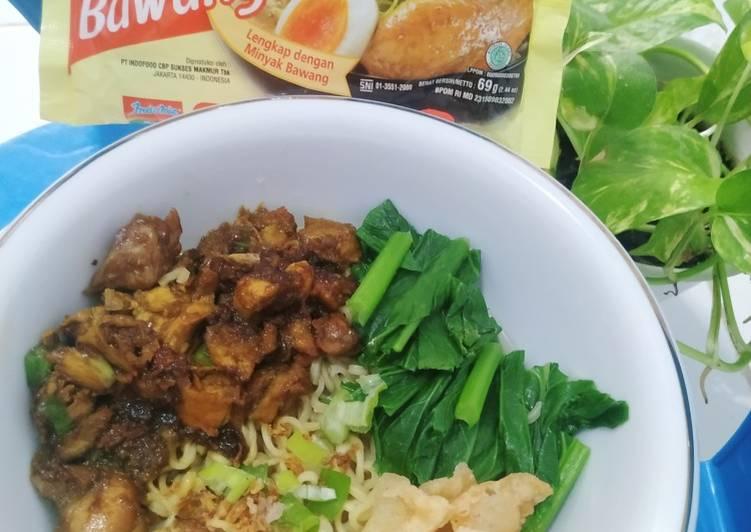 Resep Mie Ayam Indomie Paling Mudah