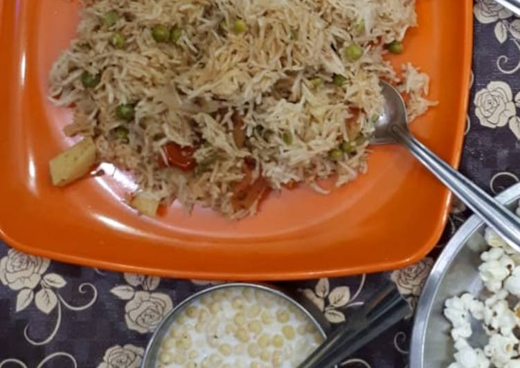 Recipe of Perfect Veg Pulao