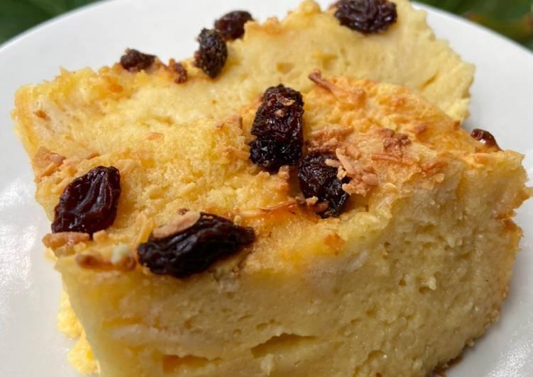 Pudding Roti Panggang