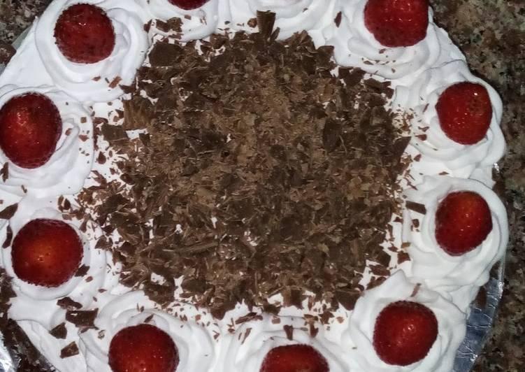 Black forest cake#myfirstrecipe