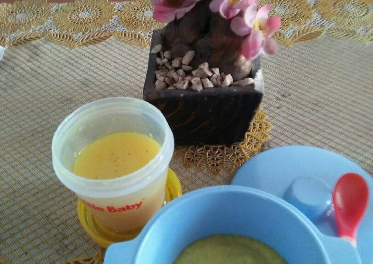 Bubur Soto Ayam Kampung mpasi untuk 6+