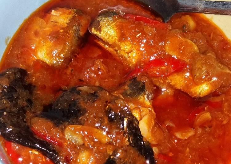 Ikan Sarden kaleng pedas