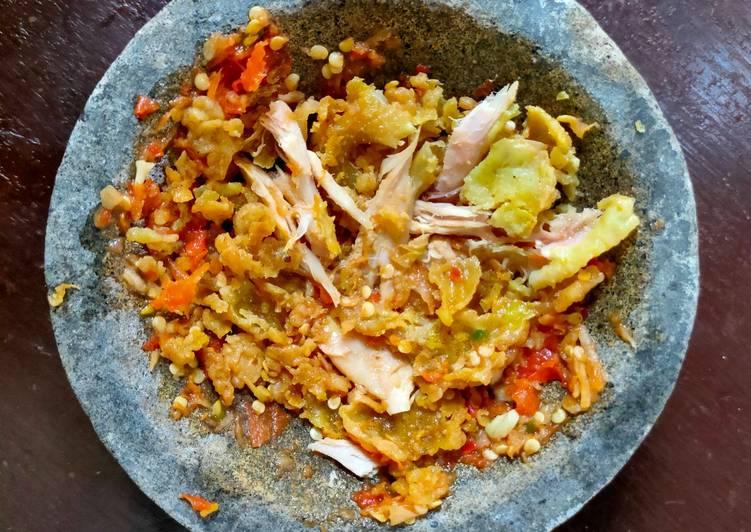 Resep Sambal Ayam Geprek, Bikin Ngiler