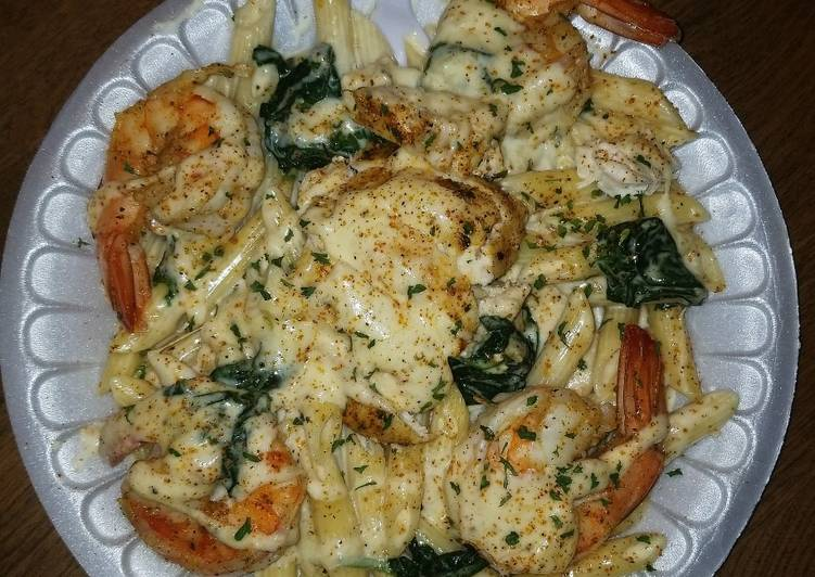 Chicken & shrimp Alfredo, Coconut Oil Is A Wonderful Product And Can Also Be Beneficial For Your Health