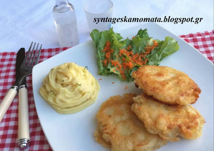 Comment Cuisiner 🇬🇷️Beignets de morue et Skordalia