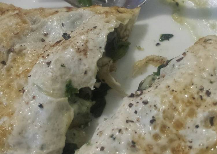 Recipe: Delicious Super low calorie omlette