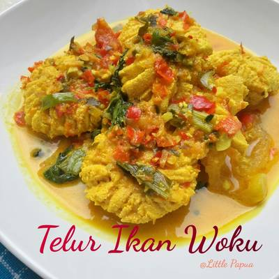 Telur Ikan Woku