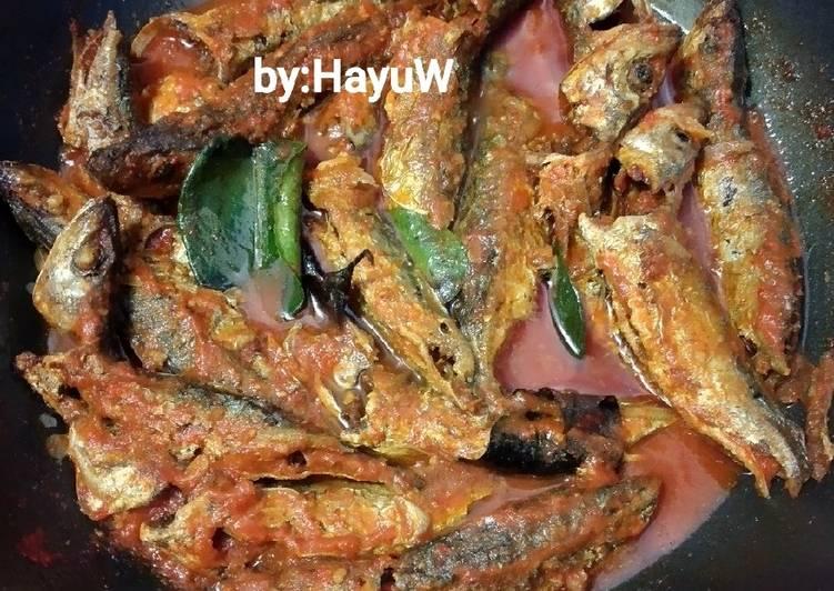 Ikan momar sambal Balado