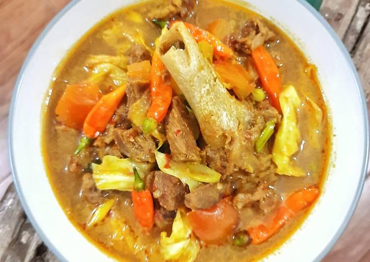 Tongseng Kambing (Super Empuk, Anti Bau) - cookandrecipe.com