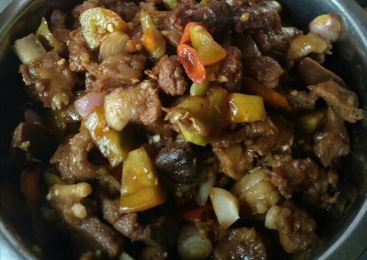 Resep Sate goreng kambing Paling dicari