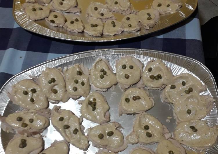 Ricetta Della Nonna Vitello Tonnato.Ricetta Vitello Tonnato Di La Cucinadimimi Cookpad