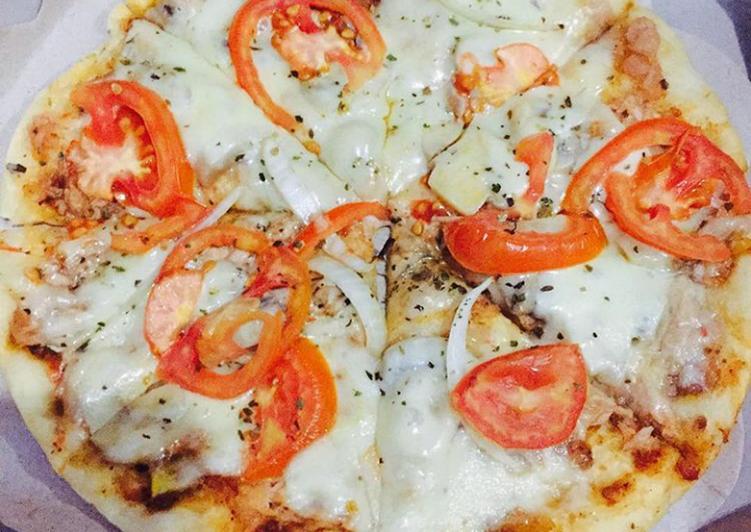 How to Prepare Appetizing Yummy Tuna Pizza