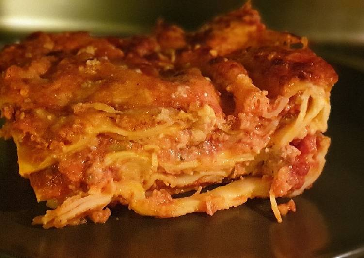 Ricetta Lasagne Fatte In Casa.Ricetta Lasagne Di Farro Fatte In Casa Senza Uova Di Anna Vella Cookpad