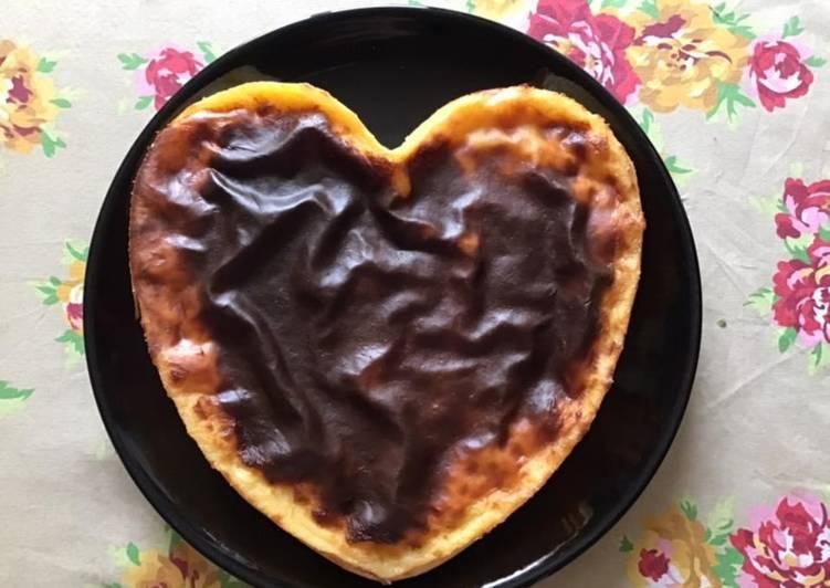 Recipe: Tasty Flan pâtissier « st valentin » sans pâte