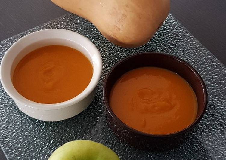 Purée de butternut /pommes
