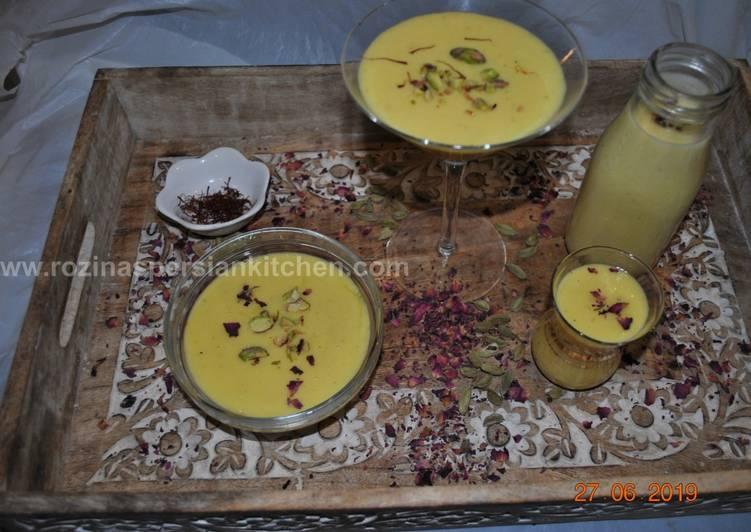 How to Prepare Super Quick Homemade Saffron Mango Lassi