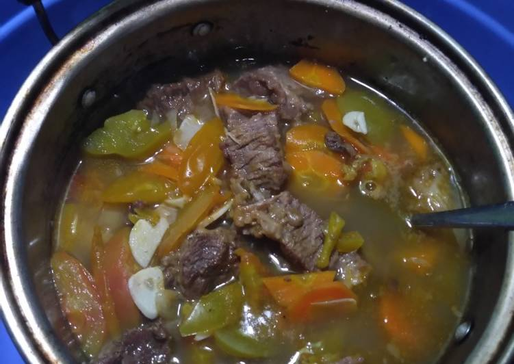 Resep Sop Daging Kerbau Oleh Nia Halwa Cookpad