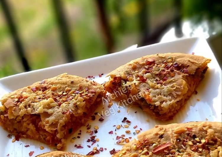 Wheat Roti lasagne