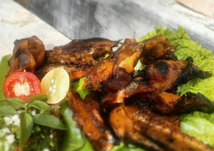 Bebek Bakar bumbu SETAN 😈😄 ala chef gunawan😁😁