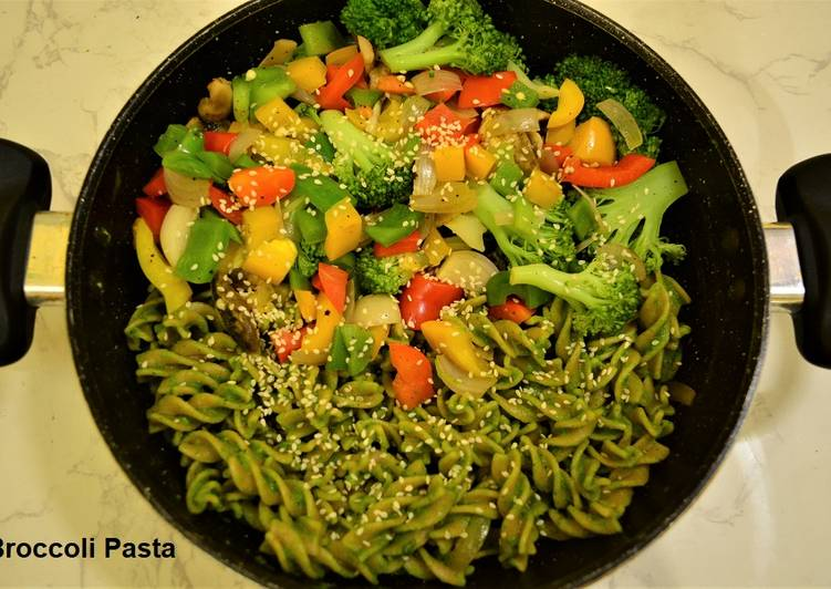 Recipe of Top-Rated Broccoli Pasta