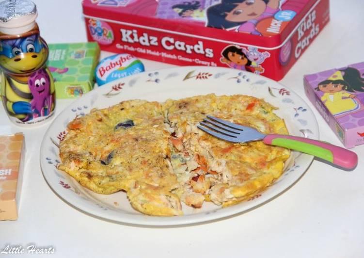 Chicken + Vegetable Omelette