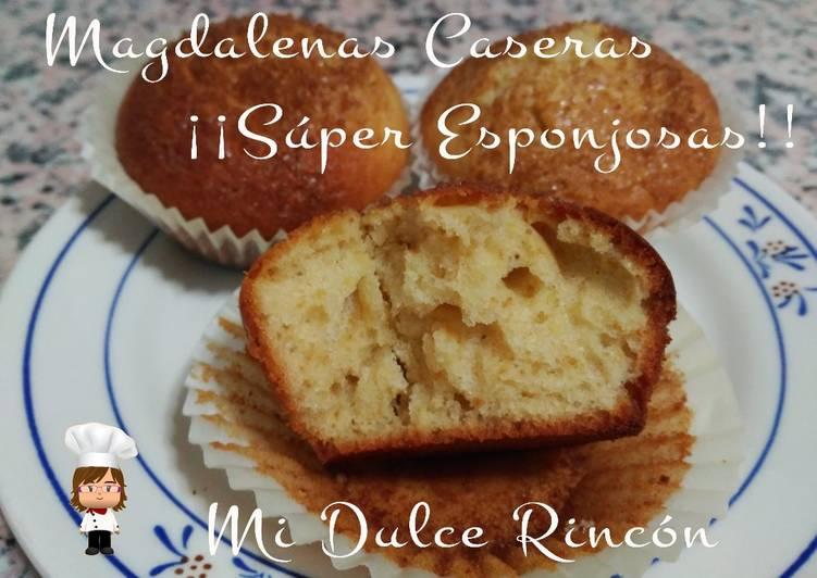 Magdalenas Caseras Super Esponjosas Receta De Mi Dulce Rincon