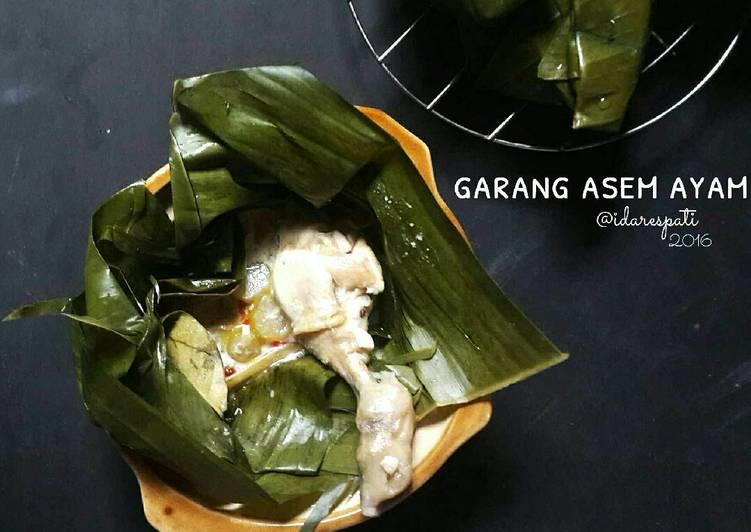 Resep Garang Asem Ayam pasti nagih