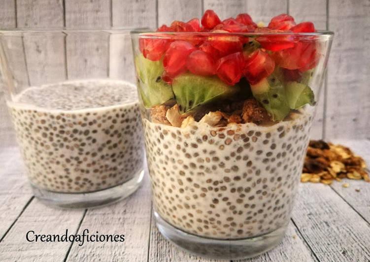 desayuno saludable con semillas de chia
