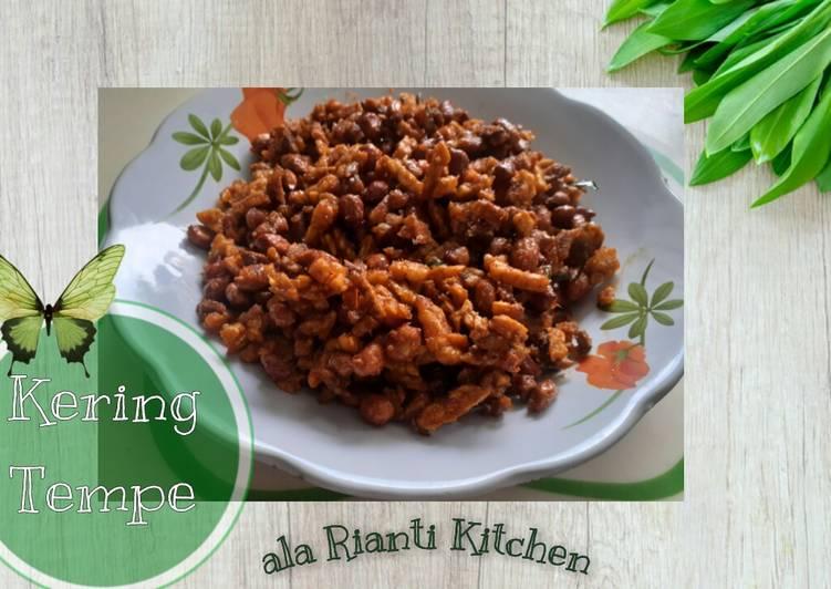 Renyah dan Gurih - Kering Tempe - ala Rianti Kitchen