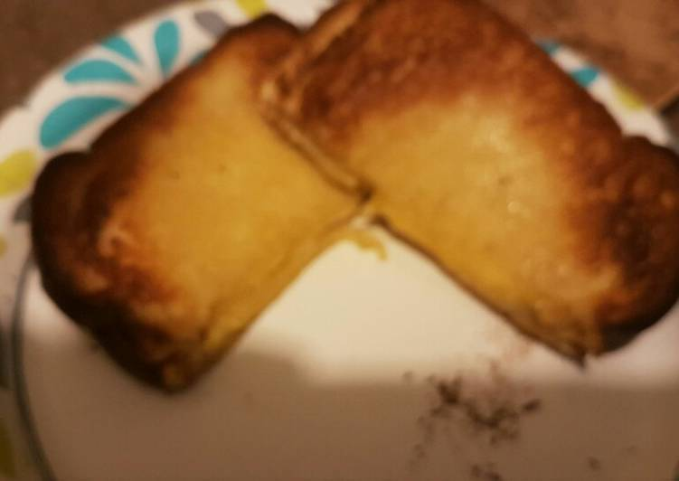 Easiest Way to Cook Yummy Toaster oven grilled cheese