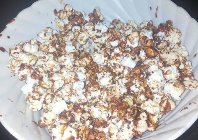 How to Prepare Yummy Caramel popcorns