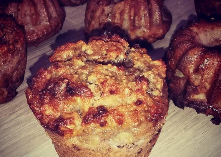 Muffin banane/amande