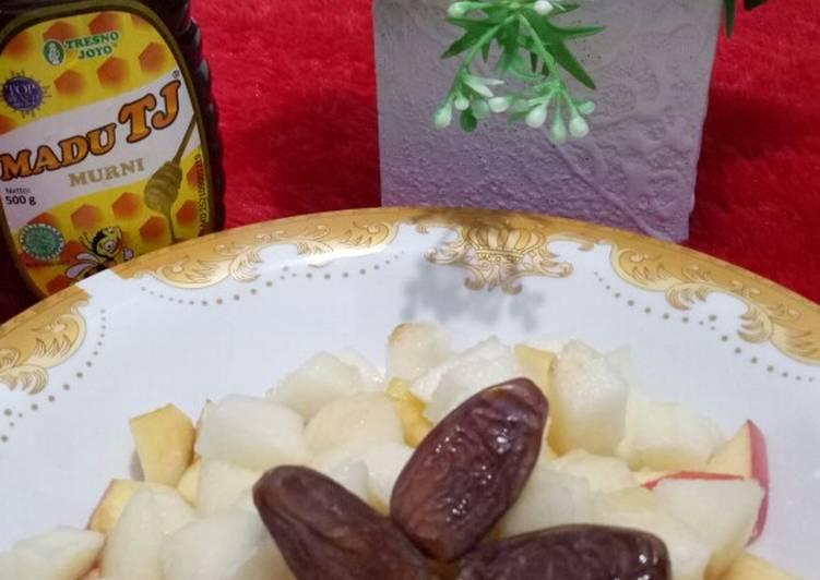 Resep Buah Mix Madu Oleh Itha Aprily Cookpad